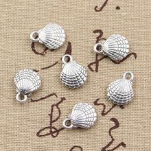 Buy 99Cents 8pcs Charms double sided shell 21*11mm Antique Making pendant fit,Vintage Tibetan Silver,DIY bracelet necklace for $1.00 in AliExpress store