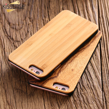 Buy KISSCASE For iPhone 6 6S 7 Plus 5 5S SE Wood Case Natural Bamboo Wooden Mobile Phone Case Bags For iPhone 6 6S Plus 7 Plus Cover for $4.49 in AliExpress store