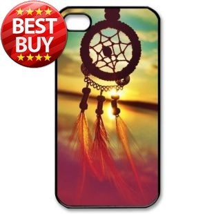 Dream Catcher Campanula Hard Back Shell Case Cover Skin for Iphone 4/4s/5/5s/5c