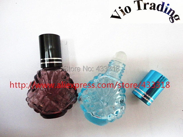 5ml empty glass bottles,mini jars,roller perfume vials,sample cosmetics package container,essential oil bottles,airless - Vio Trading specialize in bottle store