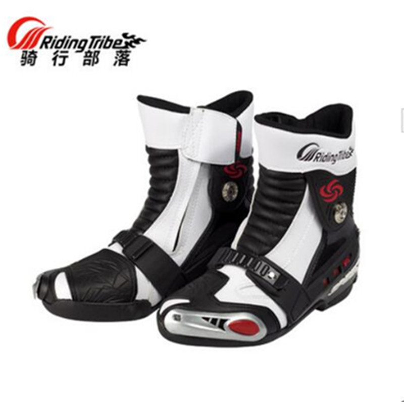 PRO-BIKER motorcycle road racing cycling shoe boots shoe boots male long riding boots motorcycle shoes