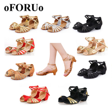 Buy 2017 New Latin shoes children kids adult Women latin dance shoes Ballroom Salsa shoes woman size 24~40 SR004 for $9.90 in AliExpress store