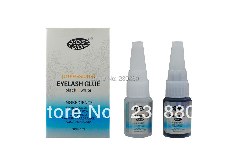 Professional top quality korea black & white eyelash extension glue/eyealsh extension adhesive()