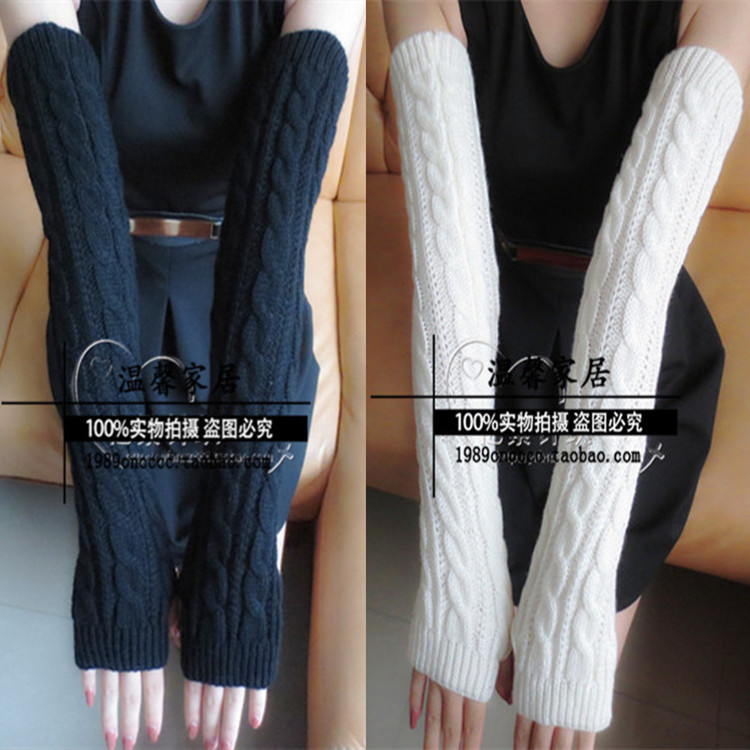 Winter Thermal Sleeves thickening Arm sleeve Arm Warmers Sleeves on hand winter(China (Mainland))