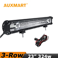 Auxmart CREE Chips LED Light Bar 23 324W fit 4x4 Truck SUV Pickup ATV 4WD Offroad