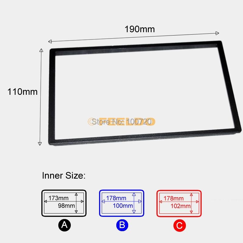 1Car DVD/CD Radio Stereo Fascia Panel Frame Adaptor Fitting Kit Honda FIT(Jazz) #4406