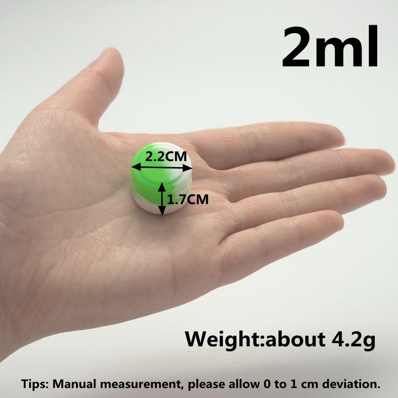 2ml round silicone container (18)