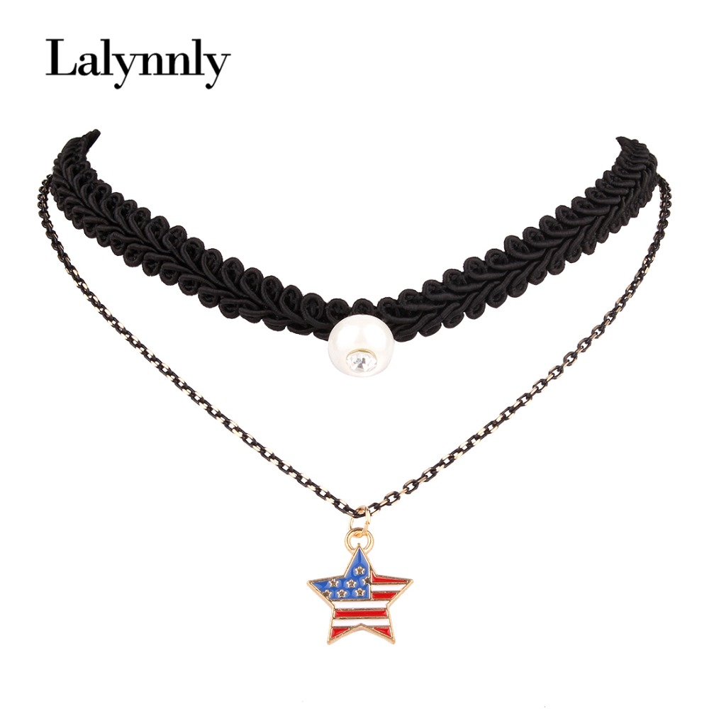 Fashion Necklaces Women 2016 Rope Choker Collars Imitation Pearls Necklaces&Pendants Jewelry Accessories Gifts Wholesale N41861(China (Mainland))