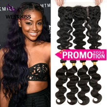 7A Full Frontal Lace Closure 13x4 With Bundles 3/4pcs Virgin Peruvian Body Wave With Closure Lace Frontal Closure With Bundles(China (Mainland))