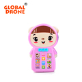 GLOBAL DRONE mini Learning Machine Russian language Story Phone Kids Toys Baby Educational and Musical Toys
