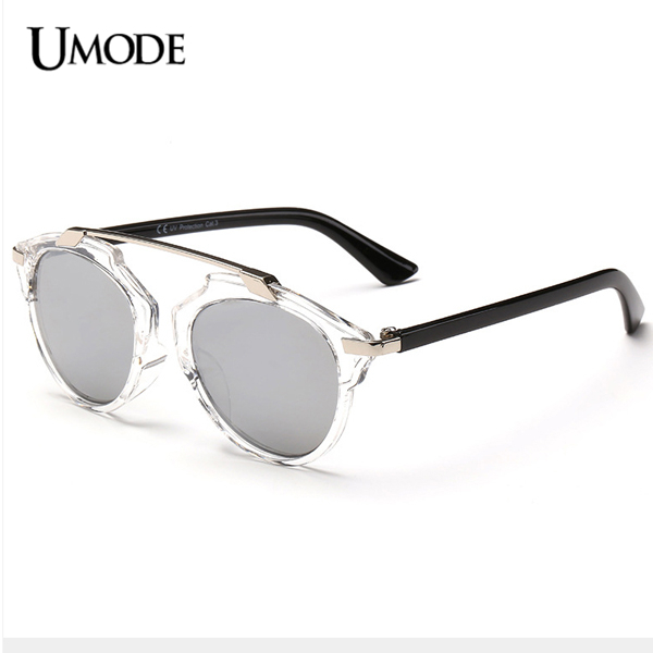 Женские солнцезащитные очки UMODE Brand Designer Sun Glasses 2015 Cateye Oculos SW0061 tshing ray fashion women rose gold mirror cat eye sunglasses ladies twin beams brand designer cateye sun glasses for female male