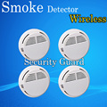 Hot Selling Wireless Smoke Detector Fire Alarm Sensor for Indoor Home Safety Garden Security 4pcs
