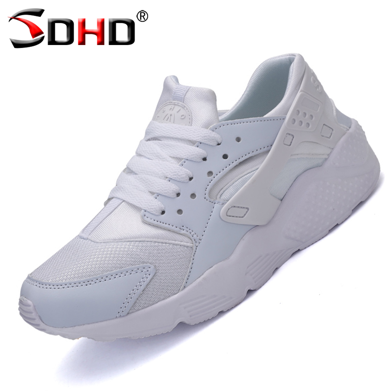 Plus Size 45 Luxury Brand Men Shoes Women Casual Shoes Fashion Sport Jogging Trainers Breathable White Lover's Walking Shoe(China (Mainland))