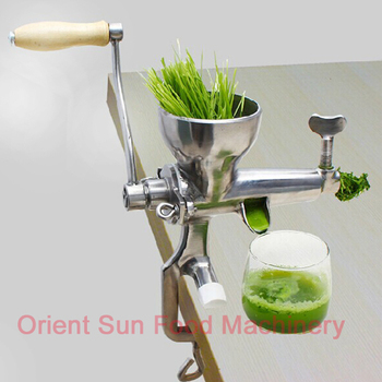 free shipping-stainless steel WheatGrass Juicer,healthy Manual wheat grass juicer extractor