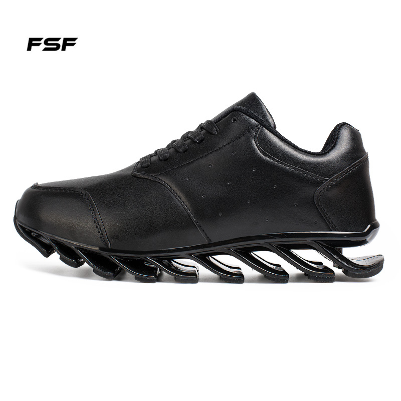 FSF Stylish Design Mens Blade Running Shoes Pure Color Outdoor Walking Shoes for Men EUR Size 39-44 On Sales Q6(China (Mainland))