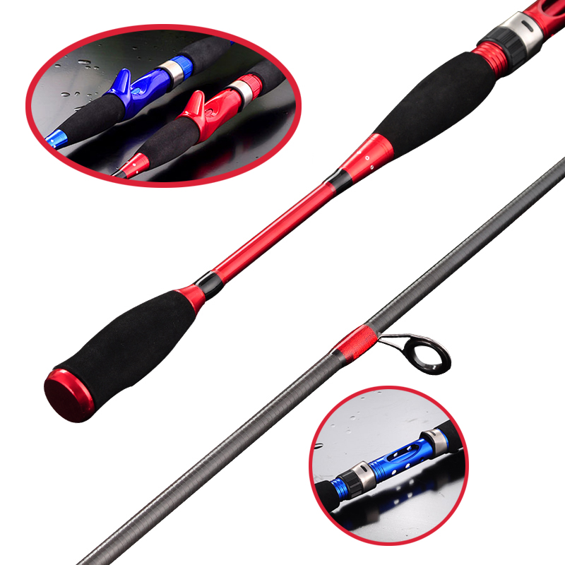 Discount Products M Power Lure Rod 1.8m 2.1m Ultra Light Casting Spinning Rod Superhard Lure Fishing 99% Carbon Fishing Rod(China (Mainland))