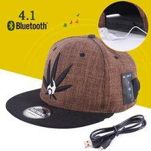 Bluetooth 4.1 Music Sun Hat Headphone EDR Earphone Baseball Cap Headset 2-in-1 Hands-free for SmartPhone Tablet PC(China (Mainland))