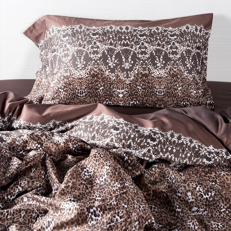 online kaufen gro handel leopardenmuster bettw sche sets aus china leopardenmuster bettw sche. Black Bedroom Furniture Sets. Home Design Ideas