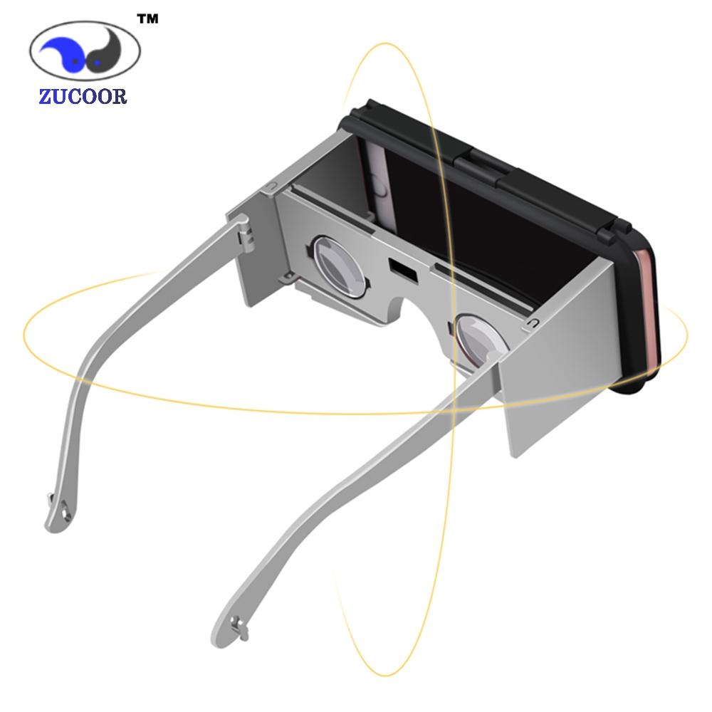 3D VR Phone Case Virtual Reality Glasses Box Movie Video Google Cardboard Binocular Lentes Realidad For iphone 6/6S/6 Plus(China (Mainland))