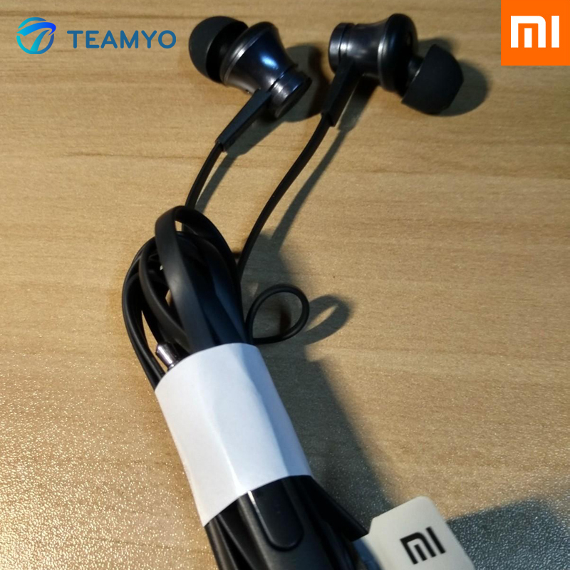 100% Original Xiaomi Piston In-Ear Stereo Earphone with Mic Remote Control Music In-ear for Xiaomi Mobile Phone Computer PC(China (Mainland))