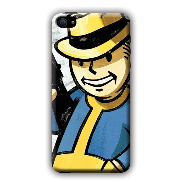 Fall Out New Vegas Character with Gun For iPhone 5c Case Waterproof Cell Phone Case Verizon(China (Mainland))