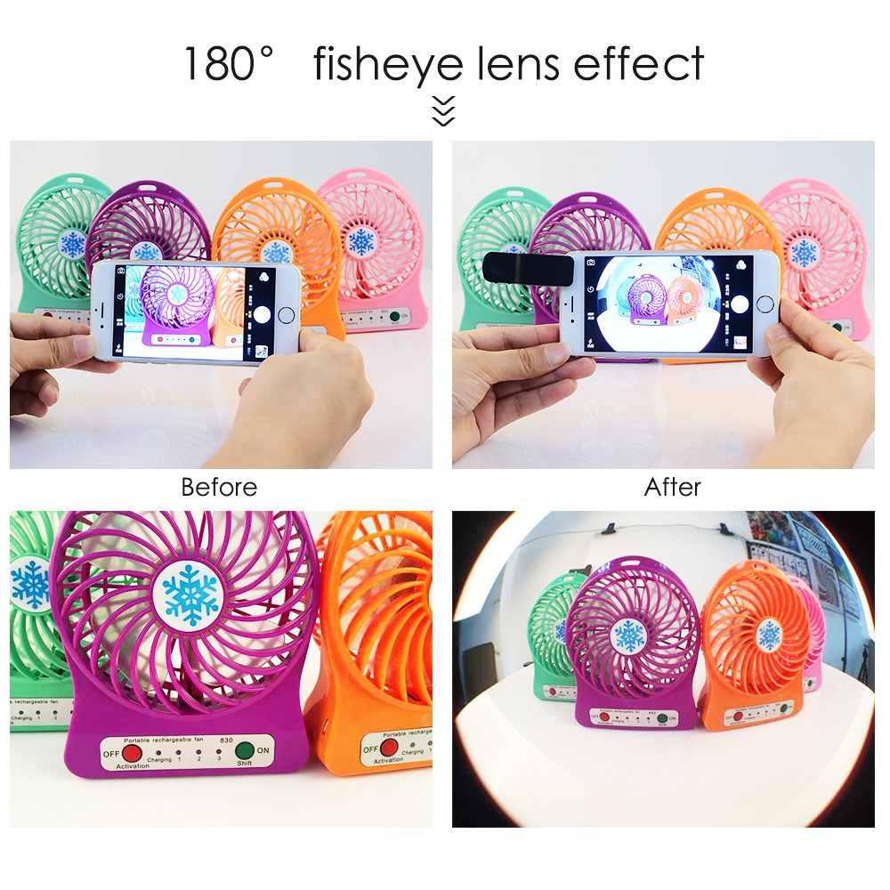 3 In 1 Fish Eye Lens Wide Angle Micro Camera Fisheye Lens Mobile Phone Lens For iPhone Lenses 5 6 5S Xiaomi Smart Phone