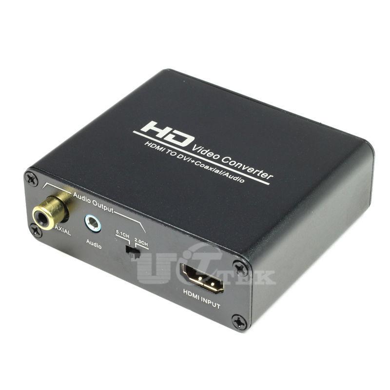 Coaxial To Hdmi : Aliexpress buy hdmi to dvi coaxial audio out