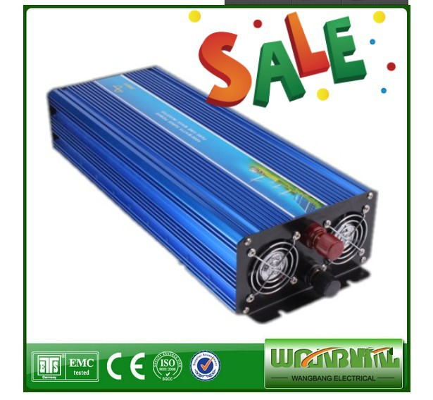Homeuse air conditioner fridge inverter DC to AC 3000W Inverter Pure Sine Wave 3000w inverter sinusgolf(China (Mainland))