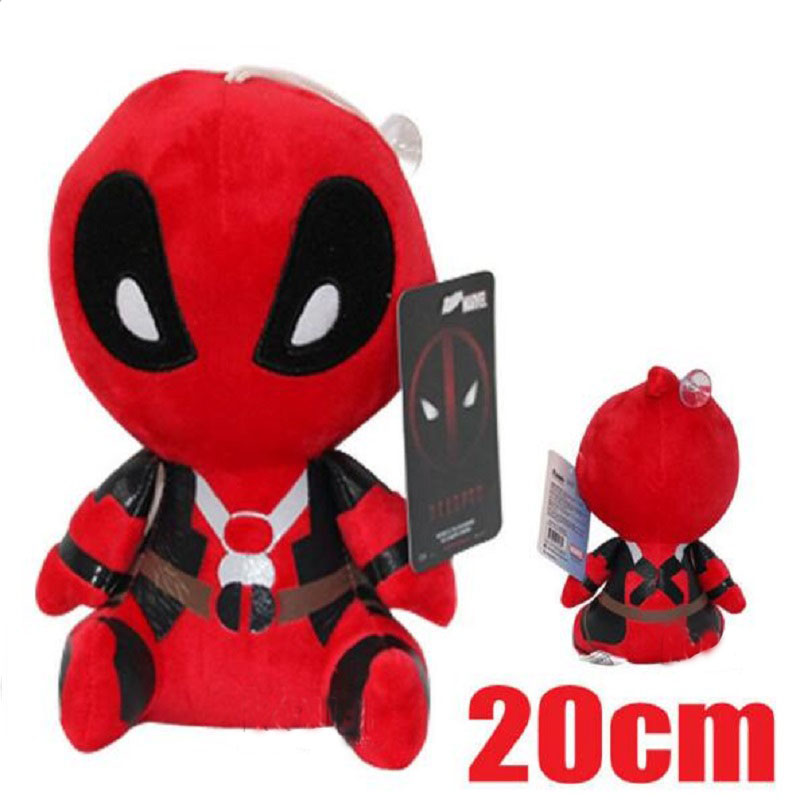 Cute Cartoon Deadpool Baby Comfort Lathe Toys Marvel Hero For Kids Musical Crib Mobiles Accompany Doll Stroller Baby Rattle(China (Mainland))