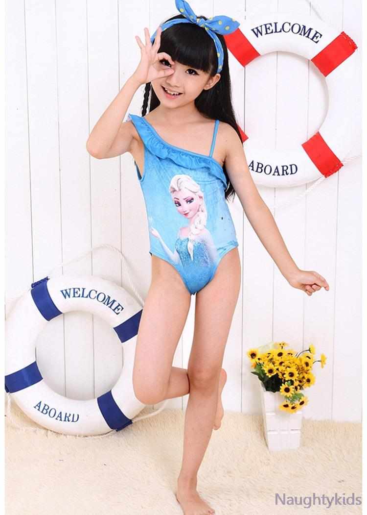 Закрытые купальники для девочек