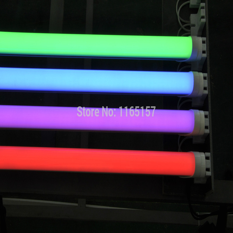 Toika 15pcs/lot 18W 1200MM T8 LED Tube Light  4ft 1200mm red green blue colorful tube 25LM/PC AC85-265V