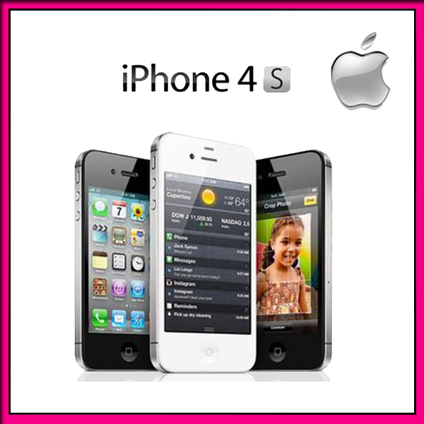 "Original unlocked iphone 4s Phone black/white color 16GB WiFi 3G 3.5"" touch screen 8MP Good quality(China (Mainland))"
