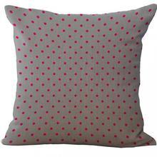 Minimalist Geometric Stripes Dots Linen Throw Pillow Case Cushion Cover