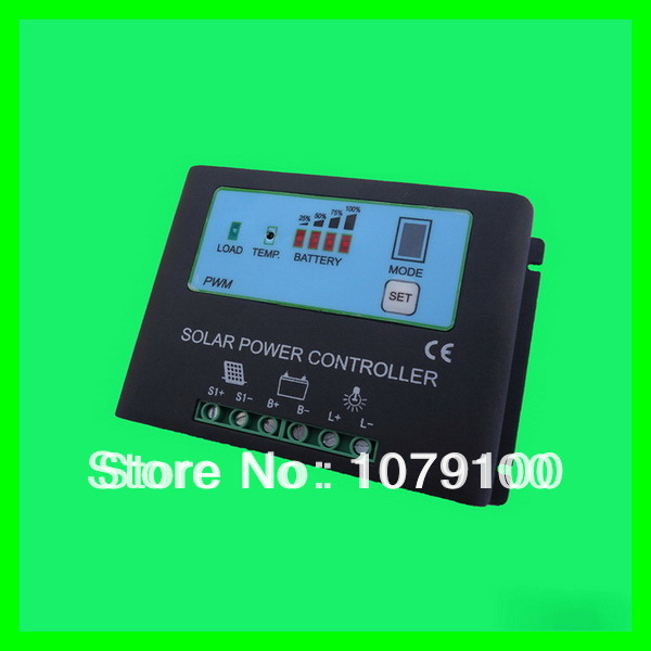 CE&RoHS Certificate New Style Metal Housing Power Display 10A mppt solar charge controller 48v(China (Mainland))
