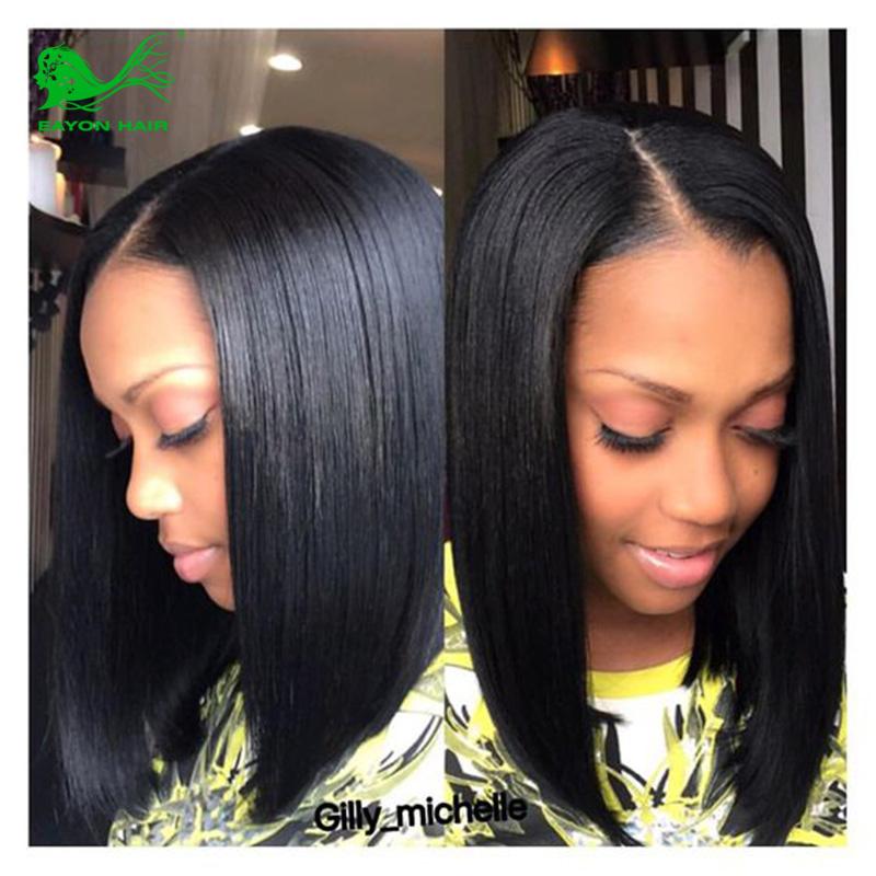 Brazilian Virgin Full Lace Human Hair Wigs Bob Wigs Glueless Full Lace Wig Straight Lace Front Human Hair Wigs For Black Women<br><br>Aliexpress