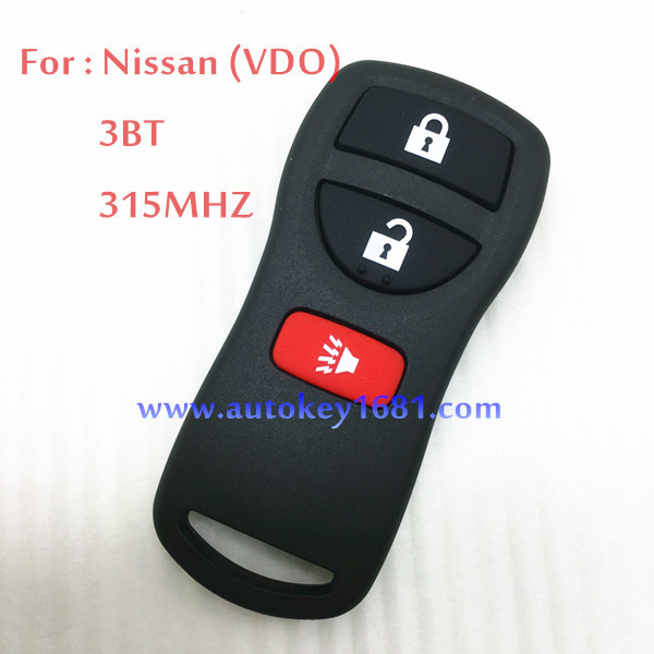 Car Key For Nissan VDO 3 Button Remote Control Circuit Board 315MHZ best quality(China (Mainland))