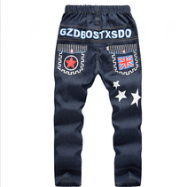 HOT sale 2016 4 5 7 11 12 boys jeans Trousers spring summer kids pants for girls Loose and comfortable children Jeans for boys