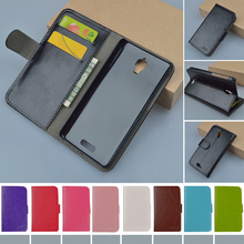 S660 Luxury Retro Book Stand PU Leather Case for Lenovo S660 Flip Cover Case with Card Slot Hot Brand phone cases 9 colors