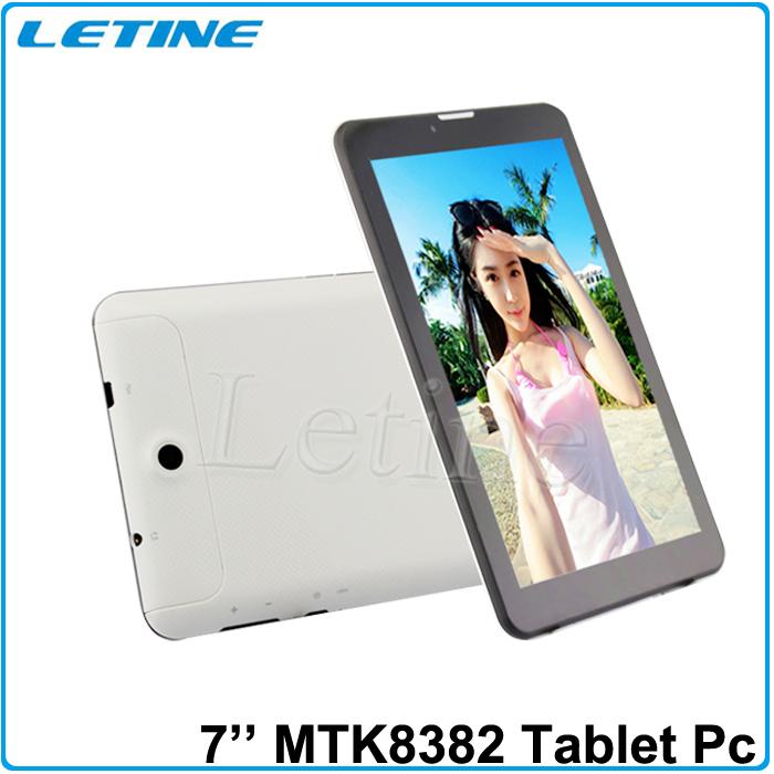 WCDMA 2100MHz 3G+Bluetooth+GPS 1G/8G 1.3Ghz 7 inch Quad Core 3g phone tablet PC Quard Core Cheapest 2 SIM Card Gps Wifi(China (Mainland))