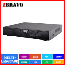 Free Shipping Full HD 1080P Surveillance CCTV NVR 4CH NVR For IP Camera ONVIF H.264 HDMI Network Video Recorder 4Channel NVR