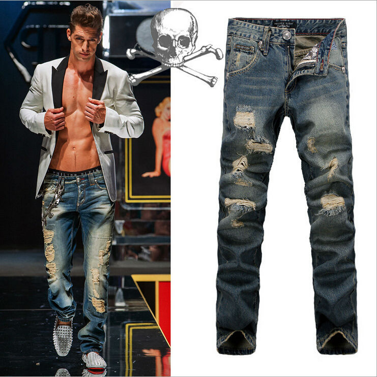 Online Cheap Wholesale 2015 New Arrival Luxury Jeans Destroyed ...