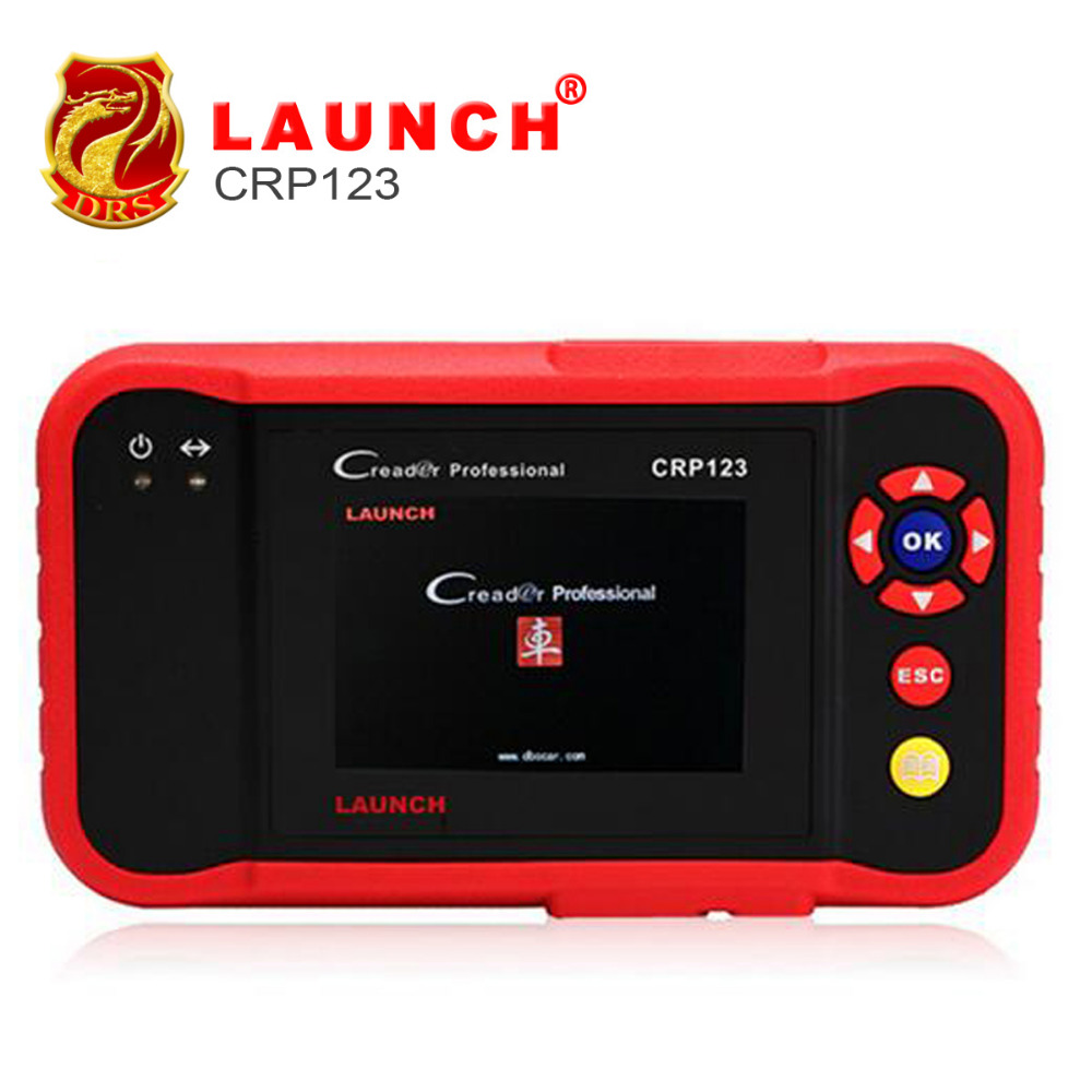 2016 New LAUNCH Creader CRP123 Code Scanner Creader CRP123/VII+ Support Multi Brand Diagnostic Tool Creader 7+ DHL Free Shipping(China (Mainland))