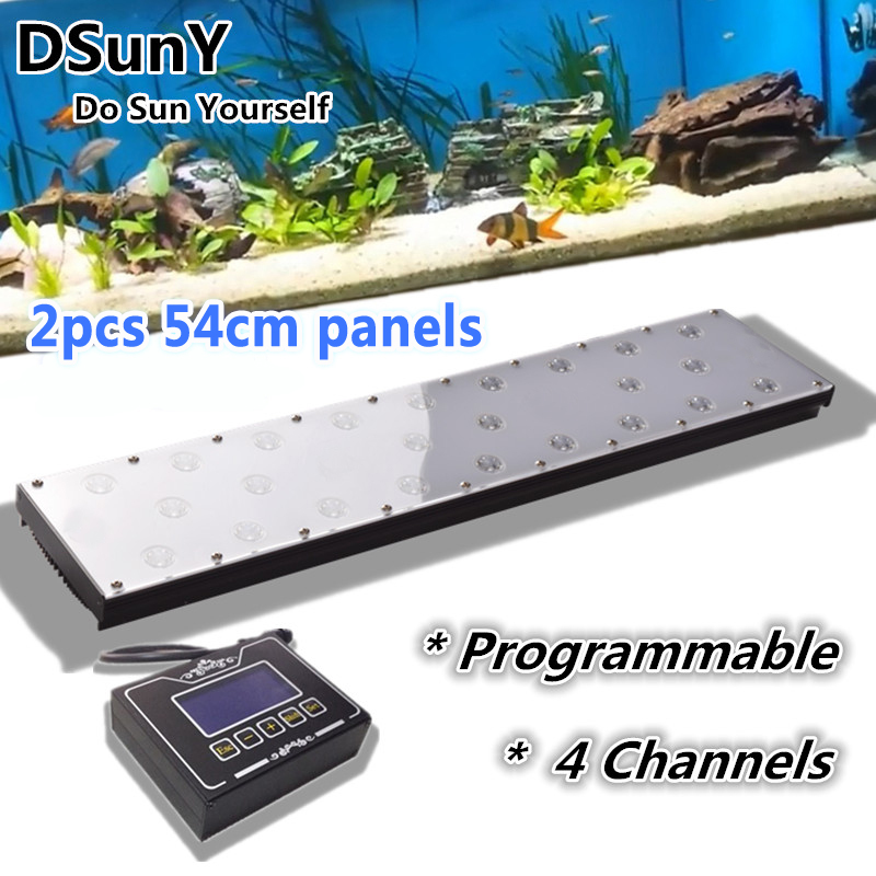 "DSunY 120cm/48""/4ft programmable freshwater fish plant tank led aquarium light for sale,spring/summer/autumn/winter mode(China (Mainland))"