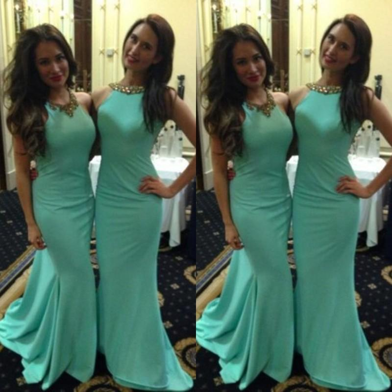 Online Buy Wholesale mint green gold bridesmaid dresses from China ...