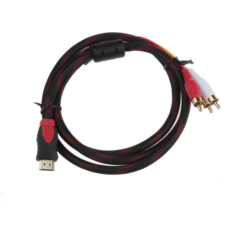 3 штекер RCA 1,5 m кабель