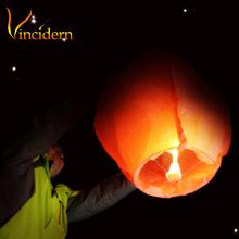 Chinese Kongming wishing Lantern Flying Sky balloon Lantern paper lantern Lamp 10pcs/lot free shipping(China (Mainland))