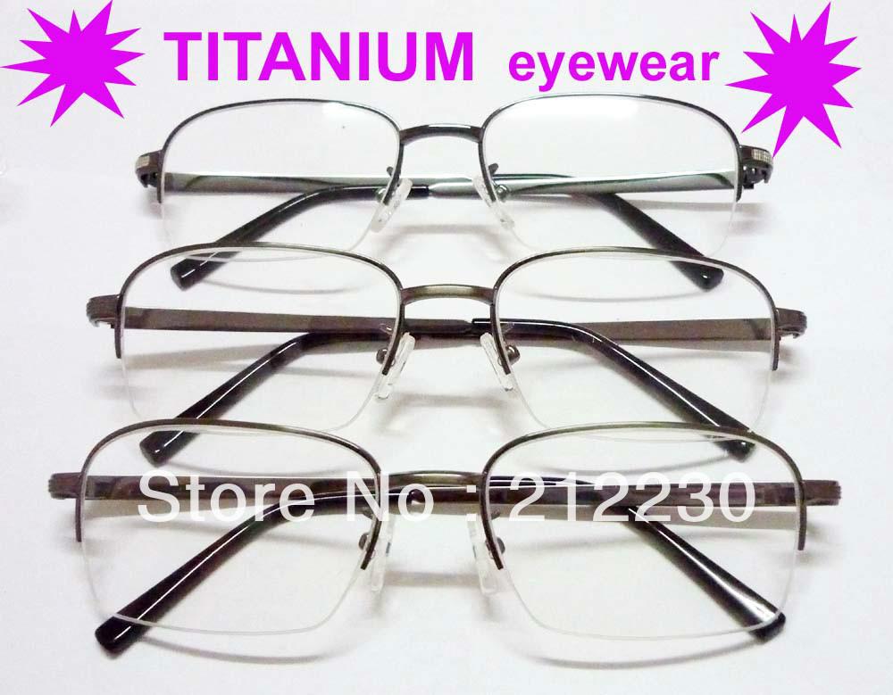 2013 titanium optical frames ,nice half frame eyewear, eye - Susan eyewear store