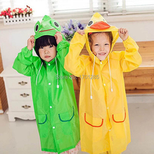 New Kids Rain Coat children Raincoat Rainwear/Rainsuit,Kids Waterproof Animal Raincoat free shipping(China (Mainland))