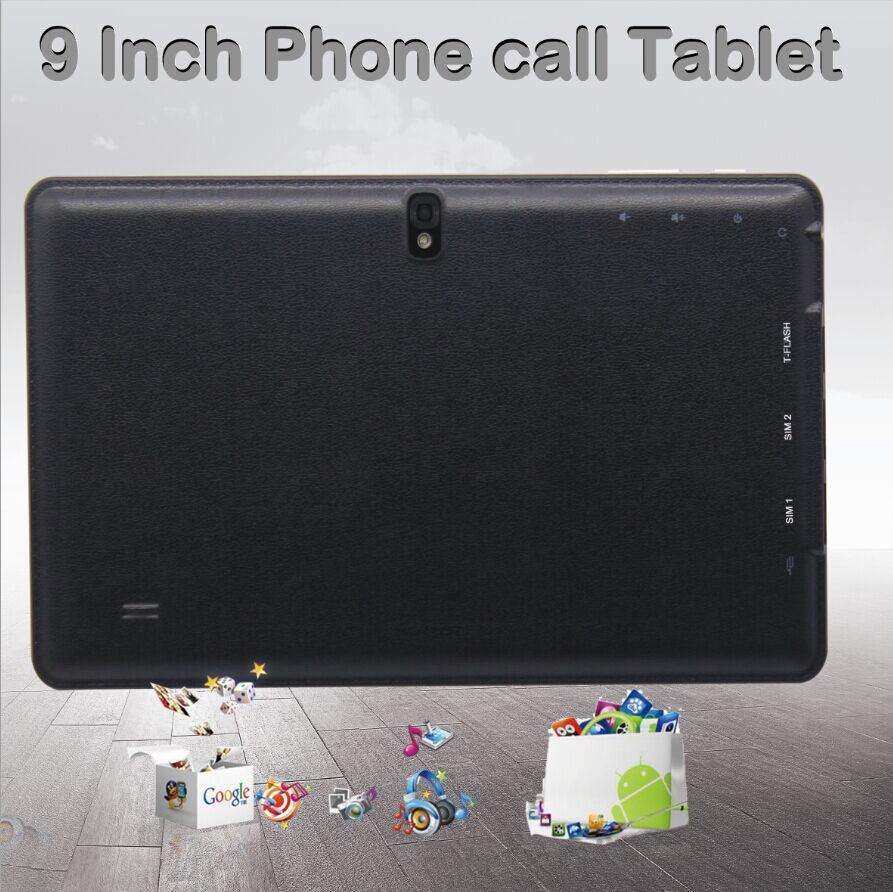 Cheap 9 inch Tablet PC Android Dual Core Make phone Call BT WiFi FlashTablet PC android