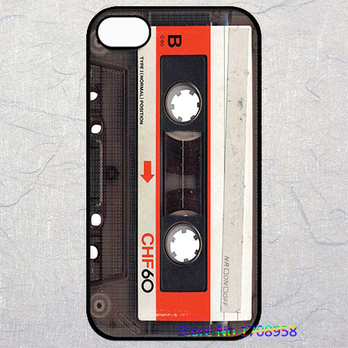 Audio Cassete housing cover case for iphone 4 4s 5 5s 5c SE 6 6s & 6 plus 6s plus &TO1244(China (Mainland))